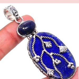 Handcrafted Lapis Lazuli pendant